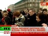 Lech Kaczynski plane crash: Polish political elite killed in tragedy near Smolensk