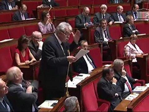 Pacte budgétaire - Explication de vote des députés Front de Gauche - André Chassaigne