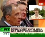 Medvedev: Russias ready for nukes reduction