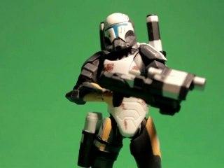 CGR Toys - STAR WARS SAGA COLLECTION Scorch, Republic Commando