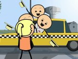 Cyanide & Happiness - Barbershop Quartet Hits On Girl From Taxi
