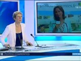 Ségolène Royal était l'invitée du 12/13 France 3 Poitou-Charentes 12/10//2012