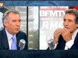 François Bayrou, invité de Bourdin Direct sur BFMTV/RMC - 121012