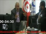 Tunisie Rached Ghannouchi filmé par une Caméra cachée