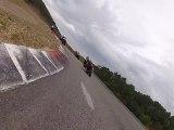 Roulage moto Ales 500RG club série jaune -11h40 -Christ et MD-SF43  -350 RDLC et 125 RS aprilia-7-8 -10-2012