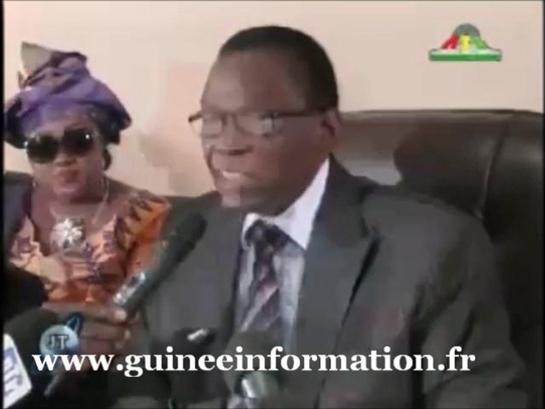 JT RTG DU 09.10.2012..Valse de passations de Services : Mouramany Cissé, remplace le Général Toto Ca