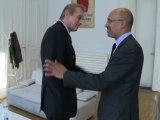 Rencontre entre Harlem Désir et Piero Fassino, maire de Turin
