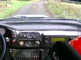 Rallye de Sarlat 2012 embarquée subaru impreza Gr A