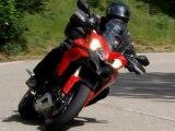 moto - mont Gerbier de Jonc - mont Mézenc - Ardèche