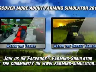 Les grosses nouveautés de Farming Simulator 13