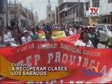 Chiclayo: Maestros vuelven a los colegios en Lambayeque