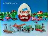 Publicité Kinder Surprise Les Mini Splash 1993