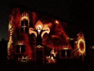 Video Mapping Joan of Arc Birth House
