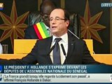Dakar : Hollande corrige le discours de Sarkozy