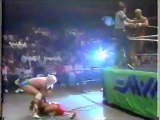 Arn Anderson and Tully Blanchard vs Lex Luger and Barry Windham