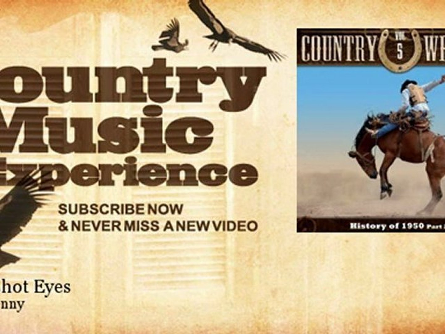 Hank Penny - Bloodshot Eyes - Country Music Experience