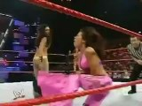 Candice Michelle And Mickie James vs Melina and Jillian Hall With Beth Phoenix