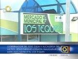 Pablo Pérez inauguró moderno mercado municipal en La Concepción