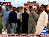 "MQM RC visit Jinnah ground & monitors the arrangment of 14 Oct MQM ""General workers"" meeting, Karachi"