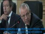 mr Mohammed Mhidia wali de la region oriental  / GOUVERNEUR D' Oujda  Angad  / Forum : Mecanisme solidaires decentralisés pour l'eau  et l' assainissement en mediterranée / Oujda