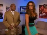 Layla, Kaitlyn, Booker T, Teddy Long & Eve Torres Backstage - WWE Smackdown 10/12/12