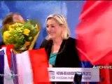Marine Le Pen, invitée de Post-Scriptum sur France 3 Nord Pas-de-Calais