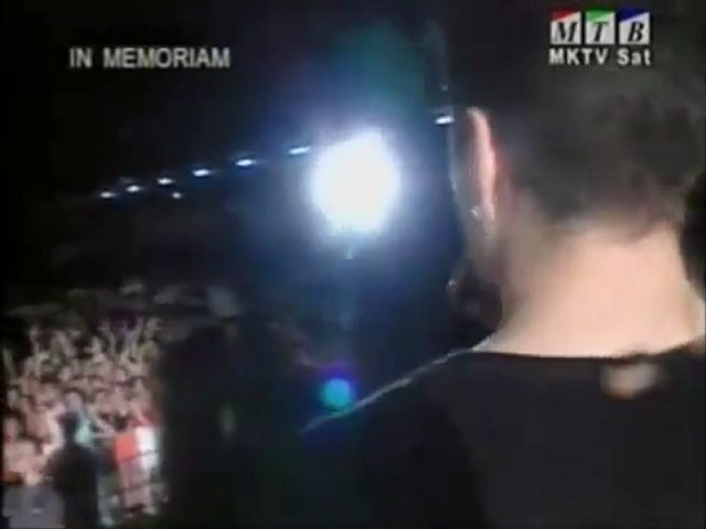 Tose Proeski - USNI NA USNI- Skopje 1999