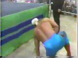 Arn Anderson and Tully Blanchard vs Sting and Dusty Rhodes