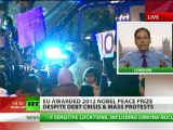 'Monsanto & Frankenstein next!' Max Keiser destroys 2012 Nobel Peace Prize