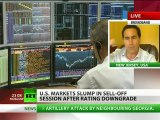 Dow Jones Down: US stock markets slump after rating downgrade