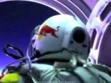 OVNI ou Meteorite pendant le saut de Felix Baumgartner (14 Octobre 2012)