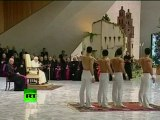 Acrobats strip for Pope Benedict XVI, perform topless in Vatican