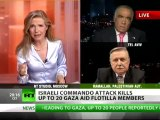 Israel vs Palestine face off LIVE in Gaza Flotilla debate