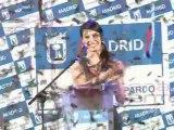 Pilar Rubio, pregonera de las fiestas del Barrio del Pilar