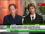 Pilot error to blame for Polish plane crash that killed president Kaczynski