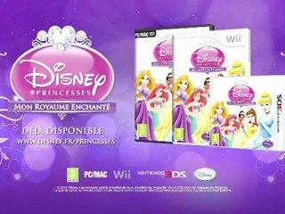 Disney Princesses : Mon Royaume Enchanté - Disponible le 18 octobre 2012 sur Nintendo 3DS Wii et PC
