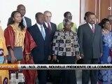 UA: N. Dlamini-Zuma, nouvelle présidente de la Commission