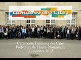 Cérémonie Lumières des Cités 2012