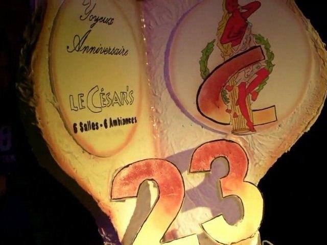 Soirée Méga anniversaire du César's 23 ans ! 29-09-12