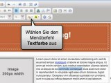 Schreiben Sie eine Nachricht aus einer Vorlage - Mailpro V5 Training