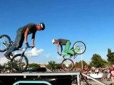 Freestyl'air Roc d'Azur 2012. Show vtt trial démonstration vtt freestyle