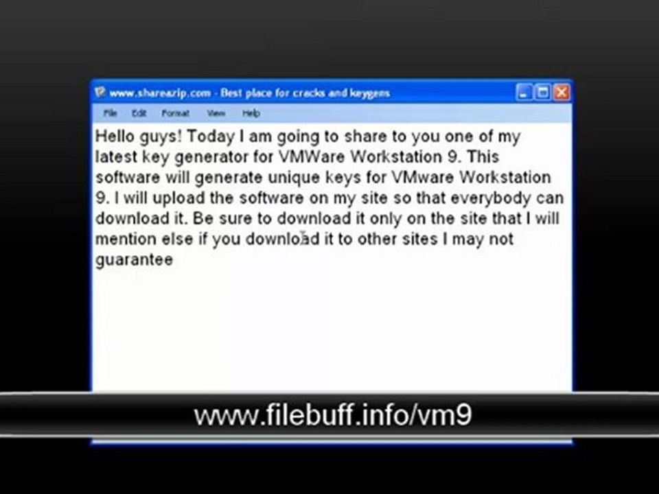 VMWare Workstation 9 License Key free download