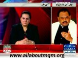 SAMAA Tonight with Jasmeen Special Interview of MQM Quaid Altaf Hussain (Complete)