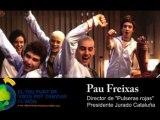 """Pau Freixas, director de """"Pulseras rojas"""", con el concurso de clipmetrajes de Manos Unidas"""