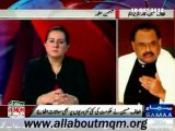 News Report about MQM Quaid Altaf Hussain talk in SAMAA News program Tonight with Jasmeen