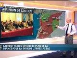Syrie-France : Laurent Fabius parraine des zones rebelles
