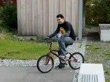 Freestyle BMX Flatland Show Tricks