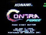 First Level - Only - Contra Force - Nintendo