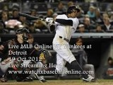 MLB- Pettitte vs Fister Fri 19 Oct Live On Air