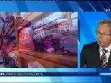 Travaux aeroport Orly : Didier Gonzales réagit 12/13 France 3 Ile de France